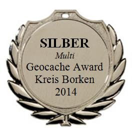 SILBER (Multi) - Geocaching Award Kreis Borken 2014