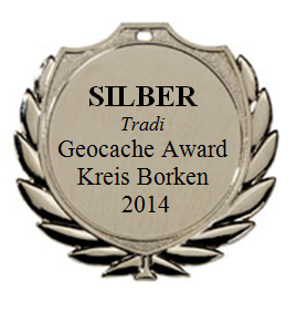SILBER (Tradi) - Geocaching Award Kreis Borken 2014